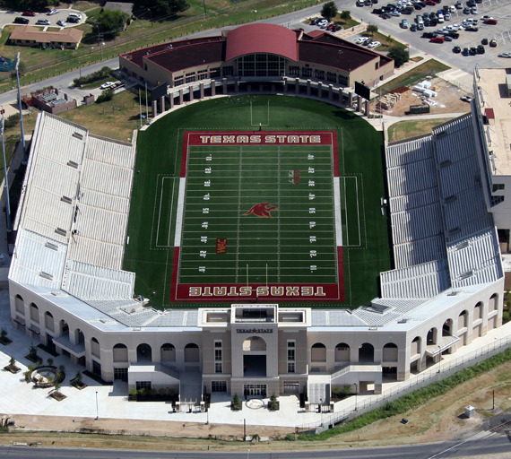 Texas State University Bobcat Stadium – North End Expansion